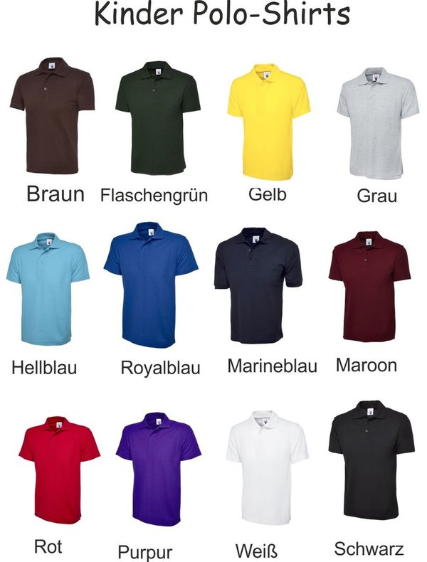 Kinder Polo-Shirts Kids Poloshirt
