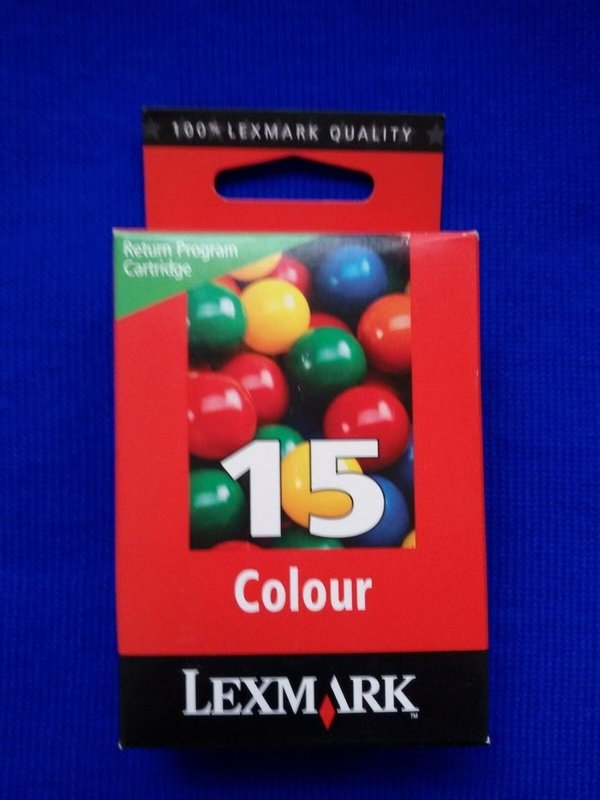 Druckerpatrone Lexmark 15 color